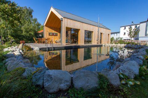 Holzbaupreis für Ferienhaus in Podersdorf am See